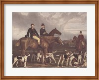 Framed Hevthorp Hunt