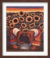 Framed Dos Mujeres