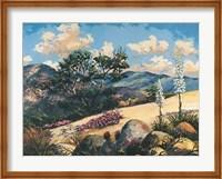Framed Mountain Desert