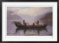 Framed Hardanger Fjord