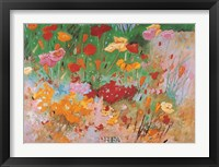 A Garden To Remember Framed Print