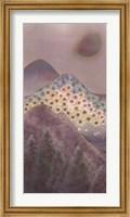 Framed Mountain Scene - Left
