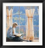 Framed Orchard Window