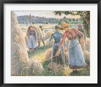 Framed Haymakers, Evening, Eragny