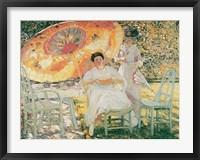 Framed Garden Parasol, 1909