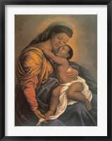 Framed Madonna and Child