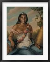 Framed Nassauan Venus