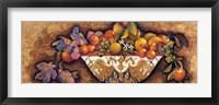 Figs & Lemons in a Moroccan Bowl Framed Print