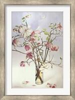 Framed Magnolias & Moon I