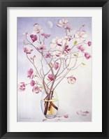 Framed Magnolias & Moon II