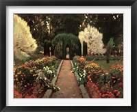 Framed Jardin de Aranjuez