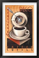 Framed Americana Deco Coffee