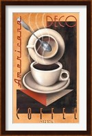 Framed Americana Deco Coffee