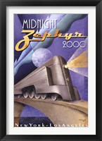 Framed Midnight Zephyr 2000