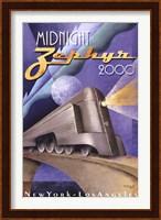 Framed Midnight Zephyr 2000