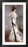 The Black Sash Framed Print