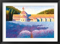 Framed L'Abbaye de Senanque