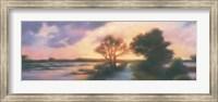 Framed Late Afternoon Marker