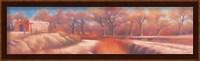 Framed Isleta Cottonwoods
