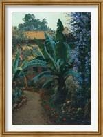 Framed Garden of the Potter Hotel