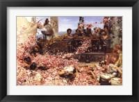 Framed Roses of Heliogabalus