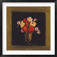 Baroque Bouquet I Framed Print