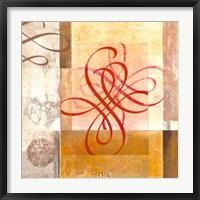 Framed Arabesque VIII