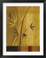 Framed Bamboo Impressions I