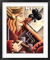 Framed King Cigar Club