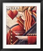 Framed Martini Queen