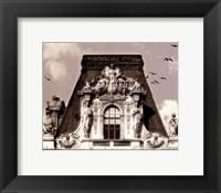 Louvre Framed Print