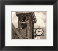 Framed Clock Tower