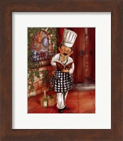 Framed Chefs With Wine II