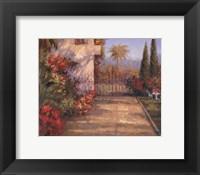 Framed Porta Celeste I