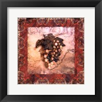 Tuscany Grapes Framed Print