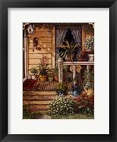 Summer Front Porch Framed Print