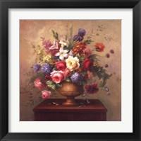 Framed Heirloom Bouquet I