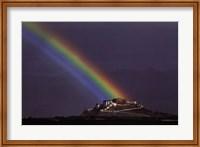 Framed Rainbow Over The Potala Palace