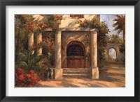 Framed Augustine's Courtyard