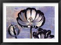 Framed Three Tulips