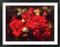 Framed Roses Are Red