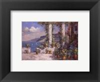 Framed Hillside View I