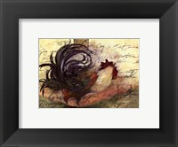 Framed Le Rooster III