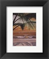 Framed Paradiso Sunset
