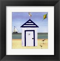 Beach House IV Framed Print