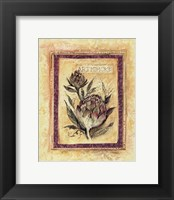 Tuscan Garden IV Framed Print