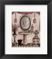 Fanciful Bathroom IV Framed Print