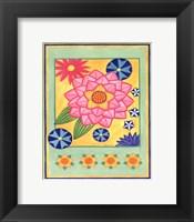 Mod Flower 4 Framed Print