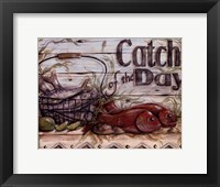 Fisherman's Catch III Framed Print