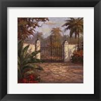 Framed Porta Celeste II